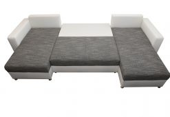 U-alakú ágyazható ülőgarnitúra