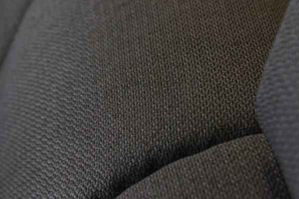 Fehér textilbőr, szürke szövet, u alakú ágyazható