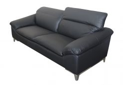 fekete ülőgarnitúra