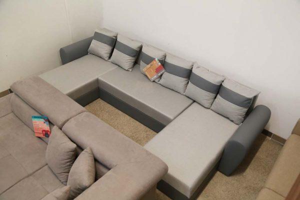 Mazs U-alakú ülőgarnitúra