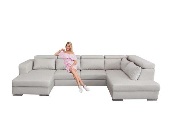 Rosie U-formájú ülőgarnitúra
